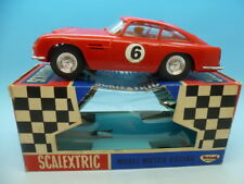 Scalextric C68 Aston Martin GT sin luces, Raro Techo Solar Versión y en caja.