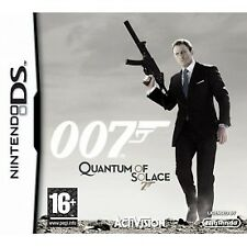 James Bond 007 Quantum of Solace Nintendo DS Game 3ds DSi