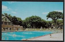 Municipal Swimming Pool Riverside Park Moline Illinois IL postcard