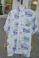Smooth collection Herren Oberhemd Hawaiihemd Hawaii 90s TRUE VINTAGE shirt aloha
