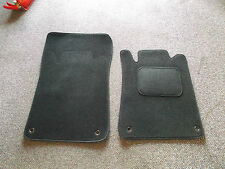 Perfect Fit Black Carpet Car Mats For Mercedes SLK (R170 Facelift)