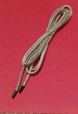 """Bungee shock elastic stretch polyester white cord 3/16"""" by per foot; made in USA"""