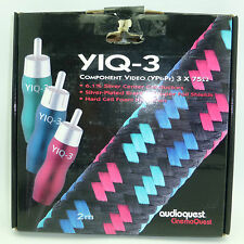 Audioquest YIQ-3 Component Video Cable 2 meters