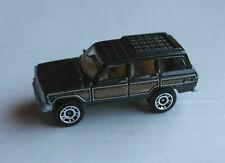 Matchbox 1989 Jeep Grand Wagoneer schwarzmetallic/Woodie SUV Mattel Auto MBX ´89