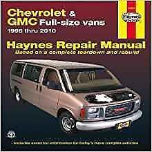 Haynes Chevrolet Express Passenger cargo italien Owners Manuel de réparations Handbook