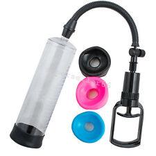 Man Vacuum Penis Pump Male Enhancement Penis Enlarger Tools S,L,M Sizes Sleeves