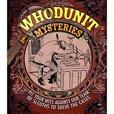 Whodunit Mysteries (Puzzle Books) Paperback