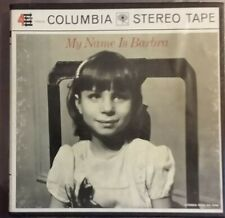 """1965 excellent/vg++ Barbara Streisand my name is barbara REEL TAPE 7"""" PH-4 CQ725"""