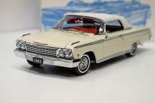 WCPD 1962 Chevrolet Impala Ermine White Convertible 1:24