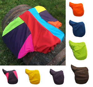 Saddle Cover. Water resistant. 2 sizes available Pony / Horse. Assorted colours