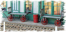 BAR MILLS HO SCALE 1/87 REA BAGGAGE CART (2) BUILDING KIT | BN | 782