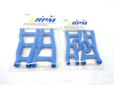 New Traxxas Slash 2wd Complete RPM A-Arm Set Front Rear Arms VXL Blue