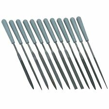 CENTRAL FORGE 04614 - Needle File Set 12 Piece Precision Type_