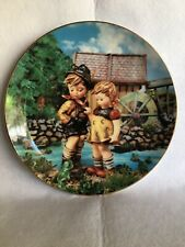 """Mj Hummel Little Companions Collector Plate by Danbury Mint """"Hello Down There�"""