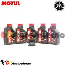 KIT FILTRO OLIO ORIGINALE MOTUL 7100 10W50 YAMAHA 1700 VMX V-MAX 2009