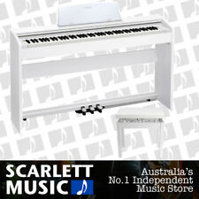 Casio Privia PX-770 White 88 Key Piano - w/Piano Stool * PX-760 / PX760 UPDATE *