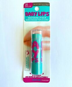 Maybelline Baby Lips Moisturizing Lip Balm #20 Grape Vine Purple