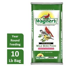 New listing Wild Bird Food Seed Mix Bulk 10lb Bag Feed Wagner's 4 Season Year Round Blend