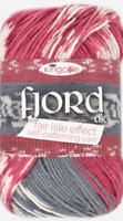 New King Cole 100g Fjord Anti Pilling DK - Knits to create a mock Fair Isle