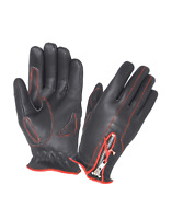 Ladies Leather Motorcycle Gloves Available in Red / Purple / Pink  Free Shipping