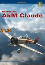 Mitsubishi A5M Claude - Kagero Monograph English *N*E*W*