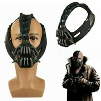 Bane Cosplay Mask Update Version Latex Mask Voice Charger Costume Props New