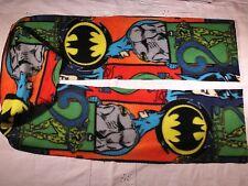 BATMAN Fleece Scarf Batman Riddler Bat in the Sky Batman Emblem