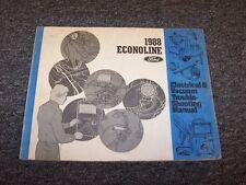 1988 Ford Econoline E150 E250 E350 Electrical Wiring & Vacuum Diagram Manual