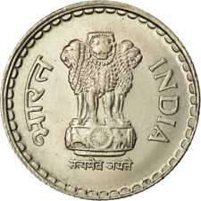 [#759956] Coin, INDIA-REPUBLIC, 5 Rupees, 1996, AU(55-58), Copper-nickel