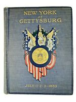 NEW YORK AT GETTYSBURG Vol 3 Final Report on the Battlefield of Gettysburg