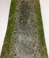 Javis Stream / Ditch / River / Road OO N Gauge Wargame Scenery 3 Variations