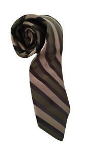 Robert Talbott Best In Class Tie Mens Green Stripe