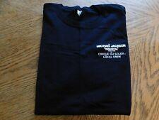"New Michael Jackson ""The Immortal"" Cirque Du Soleil World Tour Local Crew Tshirt"