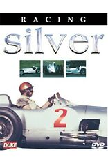 Racing Silver (New DVD) Mercedes Benz Auto Union Porsche BMW Fangio Caracciola