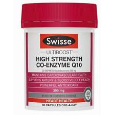 Swisse High Strength CoQ10 300mg 90 Capsules-  *** VERY LONG EXPIRY: 04/2023 ***