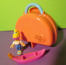 Polly Pocket Mini ♥ Köfferchen ♥ Italian Holiday ♥ Orginal Polly Gondel ♥ 1996 ♥