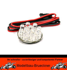 Scheinwerfer mit 12-fach LED ROT 5 - 6 Volt RC Car Boot HPI Carson Vaterra