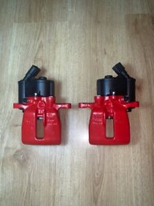 GENUINE AUDI A6 C6 41MM Rear LEFT+RIGHT TRW electric brake caliper 07-10 300MM