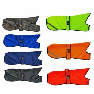 Greyhound Thin Waterproof Coat Black,Red,Royal Blue,Navy Blue,Brown,Green,Orange