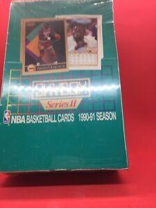 SkyBox 1990-91 Series 2 Basketball Box Possible Psa Bgs 10 Jordan Bird Magic
