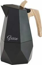 Stylish Italian Coffee Espresso Maker Stove Top or Camping
