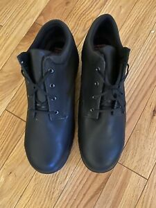 Brand New Timberland Pro Steel Toe Oxfords Mens 15W Black Leather Powerfit Work