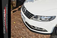 CUP Spoilerlippe für VW Passat CC Typ 3CC ab Bj. 12 Front Spoiler Schwert IN