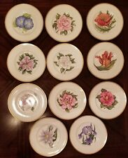 "Royal Worcester Williamson Flower Luncheon Plates 9 1/4"" - Choose Flower $ 15.99"