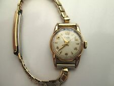 VINTAGE LADIES ZODIAC, MECHANICAL WATCH,  TICKS, but erratic run/ stops