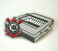 Sc Corinthians Arena Corinthians Stadium Pin Badge on Mini Canvas
