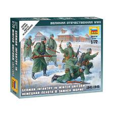 Zvezda 6198 1/72 German Infantry (winter Uniform) Plastic Model Kit - ZV6198