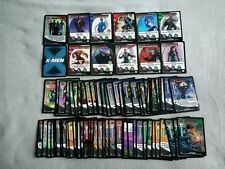 X-Men Marvel 2000 Trading Card Game holo Wizards Cards over 100 cards