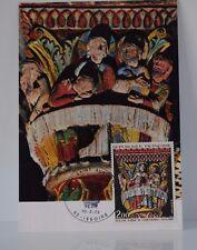 LETTRE CARTE FIRST DAY COVER PREMIER Issoire Eglise st Austremoine 1973 TB