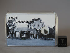 Lancé - historical meteorite fall in France 1872 - CO 3.5 carbonaceous chondrite